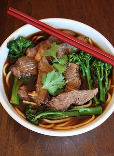 Taiwanese Spicy Beef Noodle Soup. I think I found my new favorite website: Viet World Kitchen