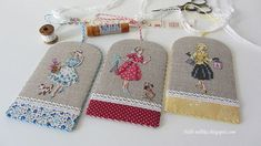 Cross Stitch Tutorial, Stitch 2, Couture, Hand Embroidery, Coin Purse, Wallet, Sewing, Creative, How To Make