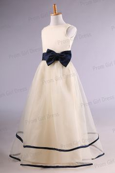 Jewel sleeveless Floorlength tulle tiered sashes by promgirldress, $38.00