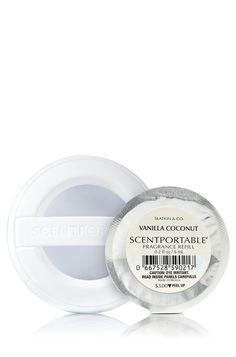 Vanilla Coconut Scentportable® Fragrance Refill - Slatkin & Co. - Bath & Body Works