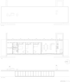 Nice storage walls and ensuite bathroom. House in Moledo / E. Architecture Drawings, Contemporary Architecture, Architecture Design, Keep The Lights On, Ideal Tools, Photo Essay, How To Run Faster, Do It Right, Digital Prints
