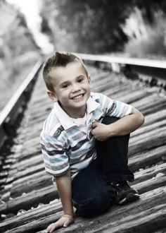 Photography by Bree: Lehi train tracks