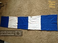 Come What May: DIY T-Shirt Blanket Tutorial