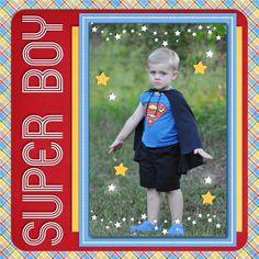 Super Boy - Scrapbook.com