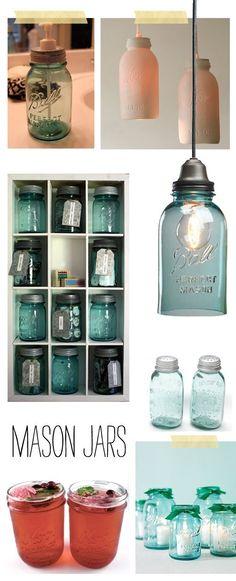 mason jars <3