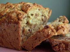 Banana Bread - Sugar Free Recipe - uses sour cream, no buttermilk. Diabetic Desserts, Diabetic Recipes, Low Carb Recipes, Desserts For Diabetics, Diabetic Snacks Type 2, Flour Recipes, Diet Recipes, Recipies, Sugar Free Deserts