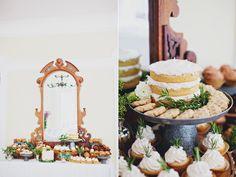 dessert bars - photo by Flora and Fauna http://ruffledblog.com/winterbourne-inn-wedding