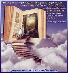 """Uma Viagem Pela Leitura  """"Viajar pela leitura sem rumo, sem intenção. Só para viver a aventura que é ter um livro nas mãos. É uma pena que só saiba disso quem gosta de ler. Experimente! Assim sem compromisso, você vai me entender. Mergulhe de cabeça na imaginação!"""" (Clarice Pacheco)"""
