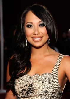Cheryl Burke, dancing with the star.