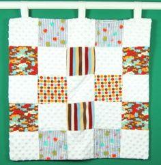 Recycle old baby clothes into a great quilt to remember those great baby, toddler, sweetie-pie moments!