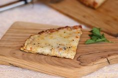A healthy and delicious cauliflower pizza crust made WITHOUT cheese or gluten! It is perfectly sized to feed one hungry person.