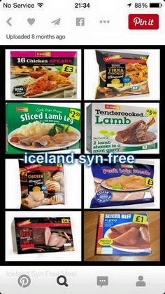 Iceland - all sw free slimming world shopping list, slimming world dinners, iceland slimming Slimming World Shopping List, Slimming World Syns List, Slimming World Survival, Slimming World Syn Values, Slimming World Treats, Slimming World Dinners, Slimming World Recipes Syn Free, Slimming Eats, Iceland Slimming World