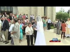 Indiana woman marries Jesus Christ, becomes consecrated virgin  http://www.examiner.com/article/woman-gets-married-to-jesus-christ-public-wedding-ceremony?cid=db_articles