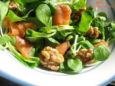 1000 images about salads on pinterest cucina antipasto for Soncino insalata