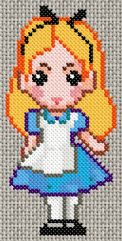 Free Alice in Wonderland cross stitch pattern   aliceRP 050322164714 01.gif.thumb