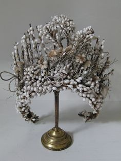 French bridal wedding crown via Victorian Times: Collectables