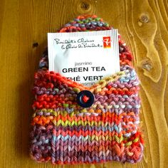 Ravelry: tea toters pattern by Julie Tarsha