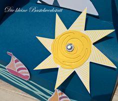 Stampin up Swirly Bird Jeansblau In-Colour Farben 2016-2018 Verpackung Tasche Koffer