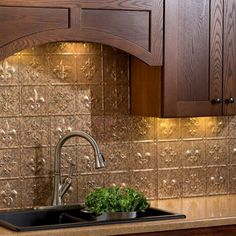 This kit includes six (6) backsplash panels, four (4) 4-foot j-trim pieces, two (2) 18-inch inside corner pieces, one package of matching outlet covers and four (4) rolls of double sided tile decorative wall tile adhesive tape.