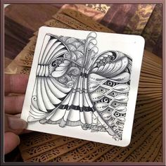 Zentangle by lily moon