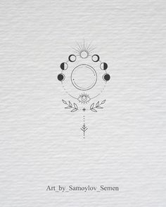 moon phases botanical illustration moon phases botanical illustration tattoo - tattoo quotes - tattoo fonts - watercolor tattoo - dog tattoo - tiny tattoo - flower tattoo - mermaid tattoo - diy tattoo - diy tattoo images - diy tattoo i Mini Tattoos, Body Art Tattoos, New Tattoos, Small Tattoos, Tatoos, Rosary Tattoos, Bracelet Tattoos, Heart Tattoos, Sleeve Tattoos