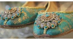 Pakistani khussay by Milli shoes.