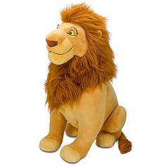 Mufasa Plush - The Lion King- Jumbo Disney Plush, Disney Toys, Baby Disney, Giant Stuffed Animals, Disney Stuffed Animals, Toys For Boys, Kids Toys, Lion King Toys, Lion King Nursery
