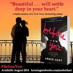 #BeforeYou is available now: http://www.kensingtonbooks.com/amberhart #WeNeedDiverseBooks