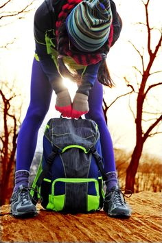 Pack it up! Momentum Backpack in the Woods of NYX with @NYCPRETTY (Christine Bibbo Herr) (Christine Bibbo Herr)