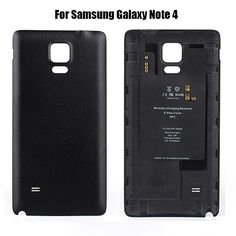 1pcs QI Wireless Charger Receiver Back Case cover for Samsung Galaxy Note 4