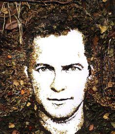 Vik Muniz, Self-Portrait, 2005 © Vik Muniz - Courtesy galerie Xippas
