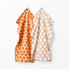 Kökshandduk Spisa Lattice orange 2-pack