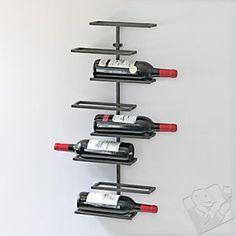 #WineEnthusiast 8 Bottle Urban Wall-Mounted Wine Rack