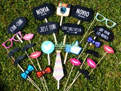Kit Photobooth: Kit de accesorios para fotos divertidas! #photobooth