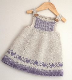 Luv U Forever Pinafore Dress - Knitting pattern by OGE Knitwear Designs Baby Sweater Knitting Pattern, Baby Knitting Patterns, Girls Knitted Dress, Newborn Boy Clothes, Sport Weight Yarn, Pinafore Dress, Knitting For Kids, Knitted Dolls, Baby Sweaters