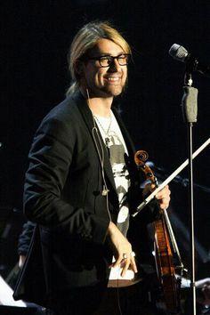 David Garrett His real glasses....