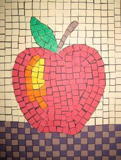 mosaic ideas for kids   Roman Mosaic Art Project