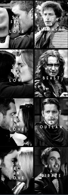 "#OnceUponATime. ""Prince Charming"" doesn't start off that way. Love changes us all for the better. <3"