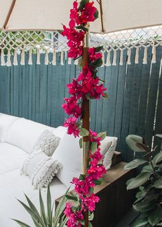 Gorgeous bougainvillea artificial flower garland in pretty rose pink. This garland with beautiful bougainvillea silk flowers is popping with deep pink color that will give your wedding designs a stunning finishing touch. Color may fade in direct sunlight. Add a UV Protectant Spray to keep color vibrant. Deep Pink 6' Long Bougainvillea Trellis, Bougainvillea Wedding, Silk Flower Arrangements, Flower Garlands, Greek Wedding, Hawaii Wedding, Pretty Roses, Garland Wedding, Trees To Plant