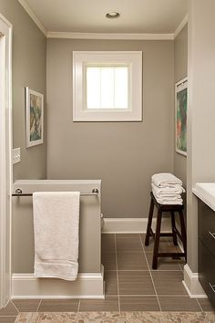 Paint color for downstairs bathroom