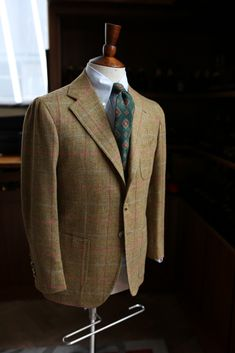 """lnsee: """"Holland & Sherry Sherry Tweed for Mr. R by Orazio Luciano """""""