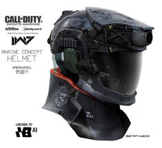 Call of Duty #Mechanical Helmet