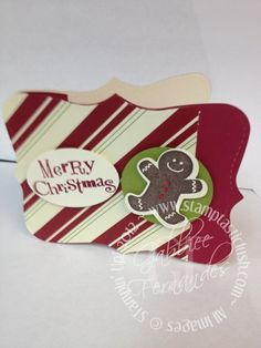 Stampin Up! Christmas Gift Card