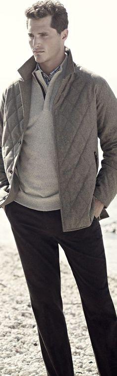 Peter Millar Bescia Quilted Coat