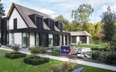 Nieuwbouw villa met schitterende vormgeving, ontworpen door Bob Manders.  In 2016 heeft Van Hilst bouwbedrijf een moderne villa, met klassieke details, in Waalwijk opgeleverd.
