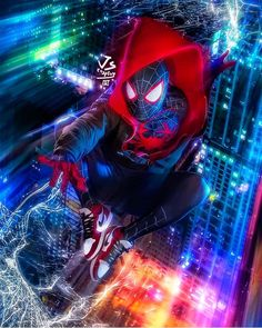 Miles Morales - Ultimate Spider-Man, Into the Spider-Verse Films Marvel, Marvel Art, Marvel Dc Comics, Marvel Characters, Marvel Heroes, Marvel Cinematic, Marvel Avengers, Spiderman Marvel, Batman Art