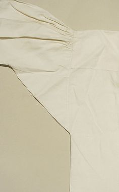 1775–90 American Shirt - linen, cotton