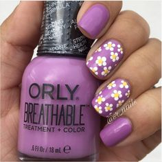 Break out the wedges, Spring is finally here! Celebrate with a pretty pastel mani from @sr_nails and Orly!