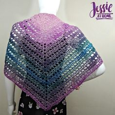 Crochet Shawls Pattern by Jessie At Home