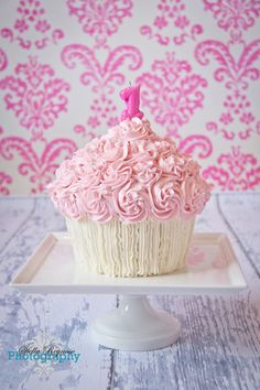 How about a really large cupcake instead of the cake..@Jessie Doll